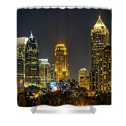 Atlanta Skyscrapers  Shower Curtain