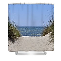 Atlantic Access Shower Curtain by Al Powell Photography USA