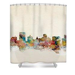 Atlantic City Shower Curtain by Bri B