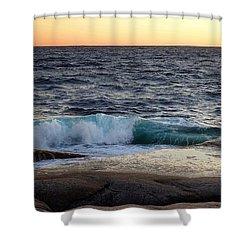 Atlantic Ocean, Nova Scotia Shower Curtain by Heather Vopni