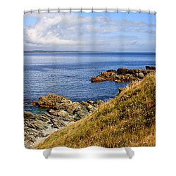 Cape Breton, Nova Scotia Shower Curtain