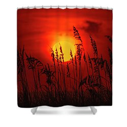 Atlantic Sunrise #2 Shower Curtain