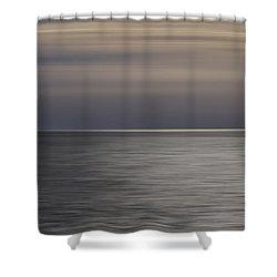 Atlantic Sunrise  Shower Curtain by Kevin Blackburn