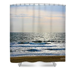 Atlantic Sunrise - Sandbridge Virginia Shower Curtain