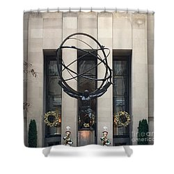 Atlas Statue Shower Curtain