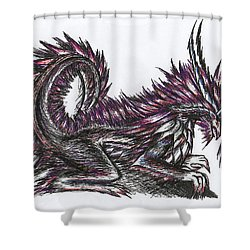 Atma Weapon Catoblepas Fusion Shower Curtain