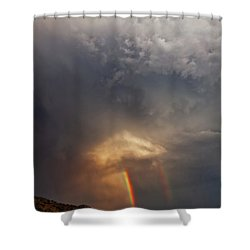 Shower Curtain featuring the photograph Atmosphere by Rick Furmanek