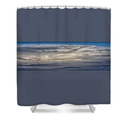 Atmosphere's Edge Shower Curtain