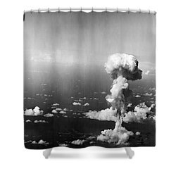 Atomic Bomb Test, 1946 Shower Curtain by Granger