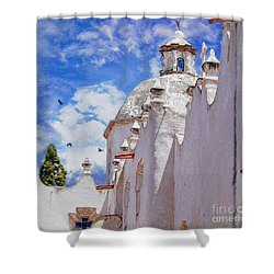 Shower Curtain featuring the photograph Atotonilco by John  Kolenberg