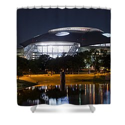 Dallas Cowboys Stadium 1016 Shower Curtain
