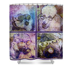 Attitoodles Shower Curtain