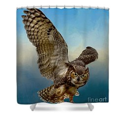 Attitude Is Everything Shower Curtain by Myrna Bradshaw