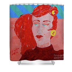 Attitudes  Shower Curtain