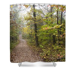 Autumn Afternoon Shower Curtain by Ricky Dean