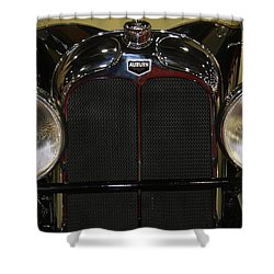 Shower Curtain featuring the photograph Auburn 8-88 Boat Tail Speedster by Vadim Levin