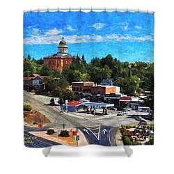 Auburn Ca Shower Curtain