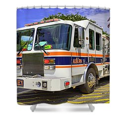 Auburn Fire Department  Shower Curtain