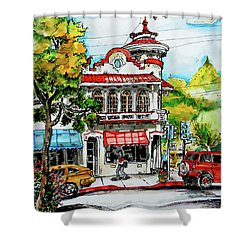 Auburn Historical Shower Curtain
