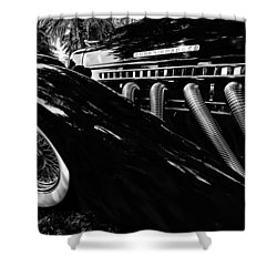 Auburn Vintage Auto Shower Curtain by Kevin Cable