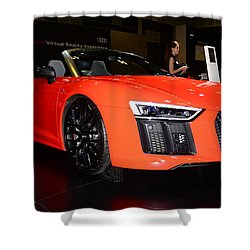 Audi R8 Shower Curtain