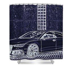 Audi Rs7 Vossen  Shower Curtain