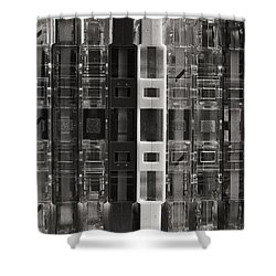 Audio Cassettes Collection Shower Curtain