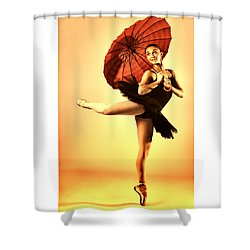 Audrey Would 3 Shower Curtain