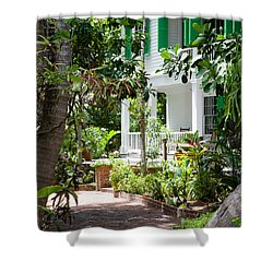 Audubon House Entranceway Shower Curtain