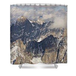 Auguille Du Midi Shower Curtain