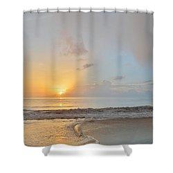 August 10 Nags Head Shower Curtain