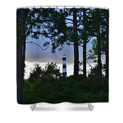 August 9 Bodie Lt House Shower Curtain