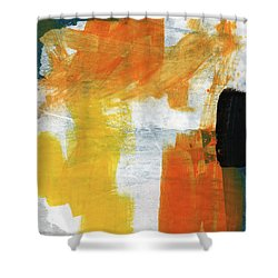 August- Abstract Art By Linda Woods. Shower Curtain by Linda Woods