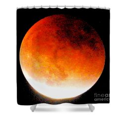 August Eclipse Tucson, Az Shower Curtain