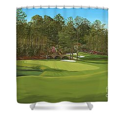Augusta 11 And12th Hole Shower Curtain