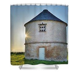Auldearn Doocot Shower Curtain