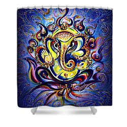 Aum Ganesha - Bliss Shower Curtain