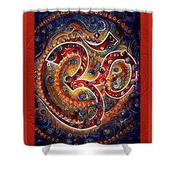 Aum - Vibrations Of Supreme Shower Curtain