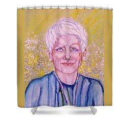 Aunt Betty Shower Curtain