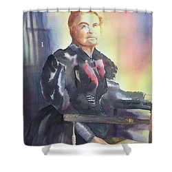 Aunt Carry A. Nation, Circa 1900 Shower Curtain