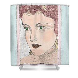 Aunt Edie Shower Curtain