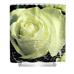 Aunt Edna's Rose Shower Curtain