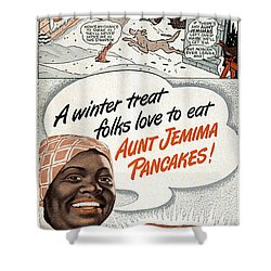 Aunt Jemima Ad, 1948 Shower Curtain by Granger