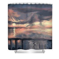 Aunt Jo Shower Curtain by Jean Pacheco Ravinski