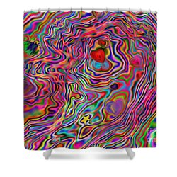 Aura Lights Shower Curtain