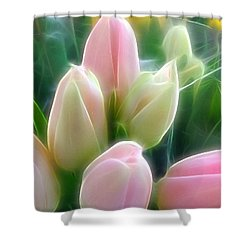 Aura Of Tulip Shower Curtain