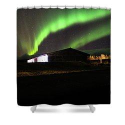 Aurora Borealis - 1 Shower Curtain
