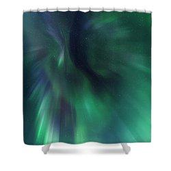Aurora Kaleidoscope Shower Curtain