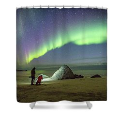Aurora Photographers Shower Curtain