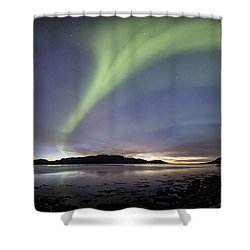Aurora Polaris Panoramic Shower Curtain